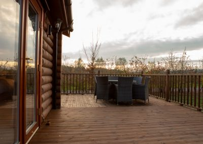 Decking Area Pheasant's Roost