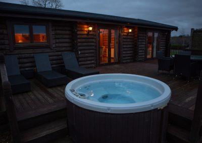 Hot tub Squirrel's Drey